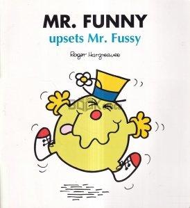 Mr. Funny Upsets Mr. Fussy