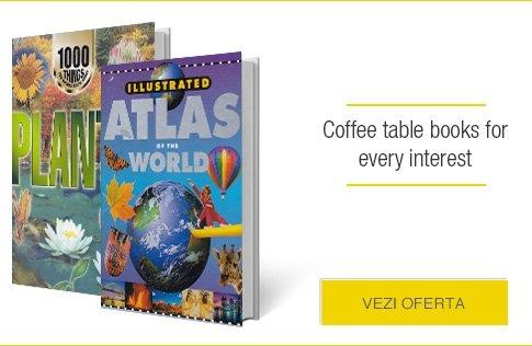 Oferta coffee table books